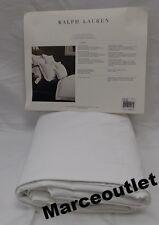 Ralph Lauren Home Palmer Cotton Percale TWIN Duvet Cover Tuxedo White