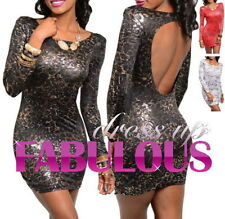 Unbranded Clubwear Animal Print Dresses for Women
