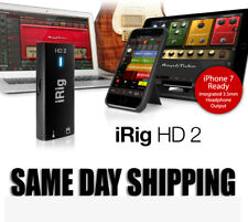 NEW! IK Multimedia iRig HD2 -for Recording into PC/Mac/iOS