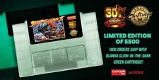 Street Fighter II 30th Anniversary Edition SNES - Limited GREEN BLANKA