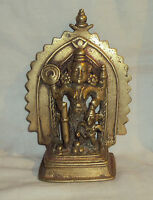 Antique Hindu Traditional Indian Bronze Statue Goddess Durga Tribal Collectible