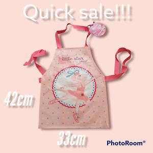 little star Angelina Ballerina PVC Children's Apron Baking Painting Messy Play