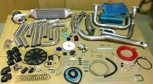 NEW 4.7 JDM Single T4 Turbo Kit 2UZ-FE 2UZFE 2UZ FOR 4Runner Land Cruiser Tundra