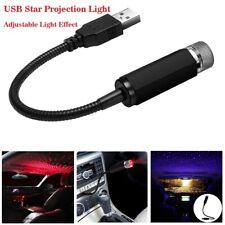 Usb LED на крышу автомобиля интерьер атмосферу Звездный ночник светильник проектор свет декор