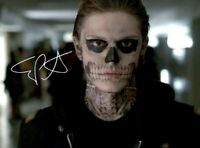 Evan Peters Autographed 8x11 Photo American Horror Story Apocalypse Reproduction