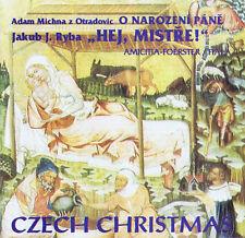 Czech Christmas CD Adam Michna z otradovic-Jakub J. ryba, amicitia-Foerster