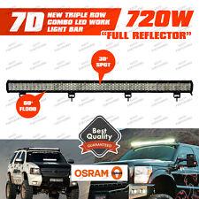 "Xmas!7D 45"" 720W LED Combo Work Light Bar Flood Spot Offroad SUV PICKUP BOAT"