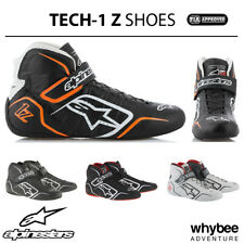 Sale! 2715015 Alpinestars 2019 TECH-1 Z Race Rally Boots Lightweight Leather FIA