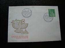 SUISSE - enveloppe 1972 timbre yvert et tellier n° 647 (cy35) switzerland