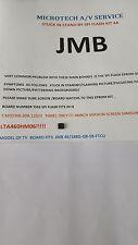 JMB 46/188G-GB-5B-FTCU  T.MSD306.69A 12023   SPI FLASH REPAIR KIT READ ADVERT