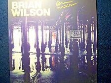 BEACH BOYS Brian Wilson 'No Pier Pressure' Signed Autographed Album Flat RARE