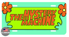 LICENSE PLATE MYSTERY MACHINE DURABLE ALUMINUM HIGH QUALITY FULL COLOR GLOSS 077