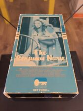 The Sensuous Nurse VHS Ursula Andress. Jack Palance. Rare