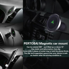 Qi Wireless Car Charger Charging Magnetic Mount Holder For Samsung Galaxy S9/S9+