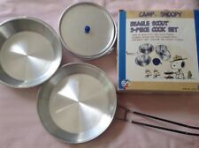 CAMP SNOOPY*Beagle Scout Cook Set*50th Anniversary*missing cup