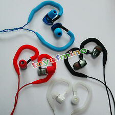 Soft ear hook loop clip hanging in ear clamps earphones bluetooth headset Random
