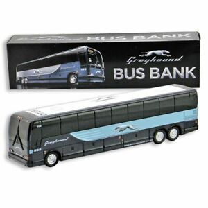 Greyhound bus Bus Bank 1:50 Scale Prevost Brand New in the box