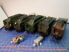 Re-Motorisation TENDER locomotive vapeur 141P-141R-241P-231K-231 NORD-JOUEF HO