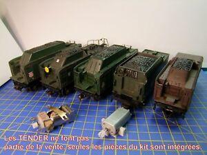Kit Motorisation TENDER locomotive vapeur JOUEF HO 141P-141R-241P-231K-231 NORD