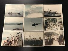 58 Korean War Photos 5x7 Ships People Helicopters Street Scenes At Sea Sailors