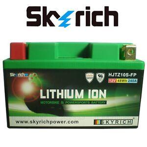 Batteria Litio SKYRICH HJTZ10S-FP per YAMAHA XP T-MAX 500 2008 2009 2010 2011 11