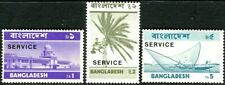 More details for bangladesh 1974 official stamps  set of 3    sg.o11/o13 mint (mnh)