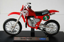 HONDA CR250R  RED 1/18th  MODEL  MOTORCYCLE