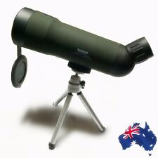 Spotting Scope 20X50 Power Monocular Telescopes with Tripod Watching ESCOP2050