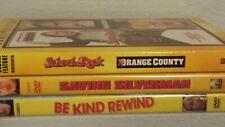 Jack Black 4 Movie Lot: School/Rock Orange Cty, Saving Silverman, Be Kind Rewind