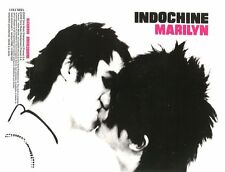 "INDOCHINE Maxi-CD single 1 titre PROMO ""Marilyn"" (Radio Edit) Nicola Sirkis 2002"
