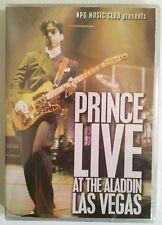 "Prince ""Live At The Aladdin Las Vegas"" DVD Import (2005) Brand New Sealed Rare!"