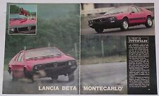 Article Articolo 1975 LANCIA BETA MONTECARLO / FITTIPALDI