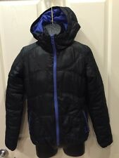 O'Neill Winter Ski Snowboard Jacket Coat Black Hooded Women's Med RCP