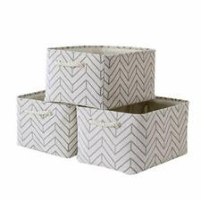 New ListingLarge Storage Baskets for Shelves, Fabric Baskets for Organizing, Collapsible