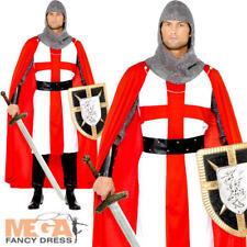 St George Hero Costume Mens Fancy Dress Outfit Adult Medium Smiffys
