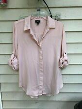 Medium Mossimo Women's Shirt Top Button Down