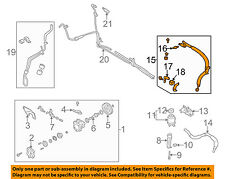 NISSAN OEM-Power Steering Pressure Hose 497205Y700