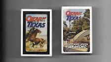 Ozark Texas & Ozark San Antonio Decks Of Playing Cards