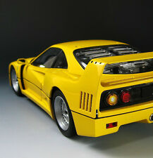 Ferrari GT Vintage Sport Car Exotic Race Rare F1 1 V 12 Carousel Yellow 18 Model