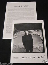 Brian Wilson 'I Just Wasn'T Made For These Times' 1995 Soundtrack Presskit—Photo