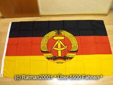 Fahnen Flagge DDR NEU - 90 x 150 cm