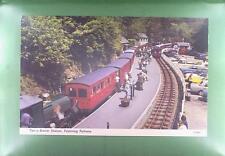 CPA Great Britain Tan-y-Bwlch Mountain Railway Station Gare Eisenbahn Zug k487