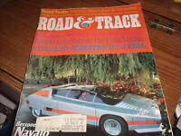 Road & Track Magazine Sept 1976 Alfa Roma Navajo