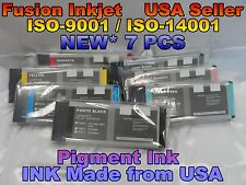 NEW 7 INK Compatibl Cartridge Epson Stylus Pro 4000 7600 9600 220ml Pigment