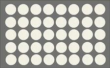 Möbelpflaster Weiß gemasert ( Möbelaufkleber Dekoraufkleber Schraubenabdeckung )