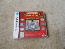 El profesor Layton y la caja de Pandora DS Lite DSi XL 3DS Leyton Rompecabezas-Completo
