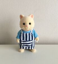 Sylvanian Families Chantilly Cat Barbeque Chef 👨�� Vgc