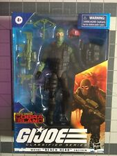 GI Joe Classified Wayne Beach Head Sneeden Cobra Island Target Blue Eyes