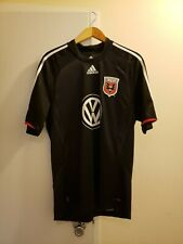 NWT DC United Mens MLS Soccer  Adidas Volkswagen Jersey Shirt Size Large