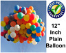 "12"" Latex PLAIN BALOONS BALLONS helium BALLOONS Quality wedding birthday Party"